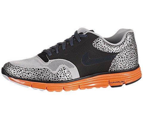 Safari Nike Fuse - Nike Lunar Safari Fuse+ - Black / Anthracite-Neutral Grey-Total Orange, 13 D US