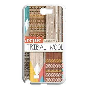 Aztec Wood ZLB605349 Personalized Phone Case for Samsung Galaxy Note 2 N7100, Samsung Galaxy Note 2 N7100 Case by icecream design