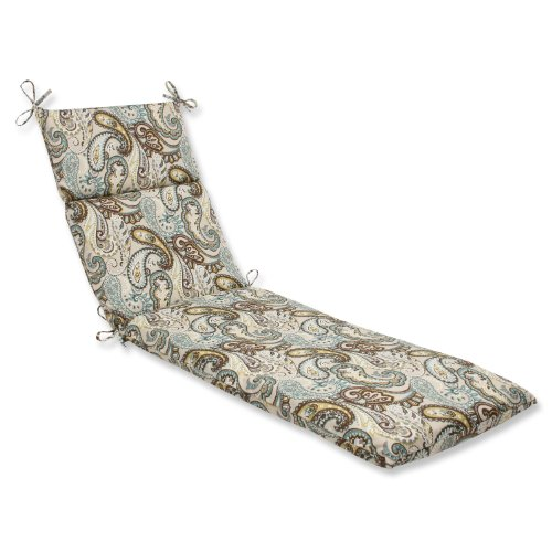 Pillow Perfect Outdoor Paisley Cushion