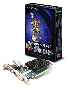 Sapphire Radeon HD 5450 - Tarjeta gráfica PCIe (1 GB DDR3, VGA, DVI-I, HDMI LP Passive)