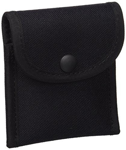 Uncle Mike's Kodra Duty Nylon Web Single Snap Close Latex Glove Pouch, Black