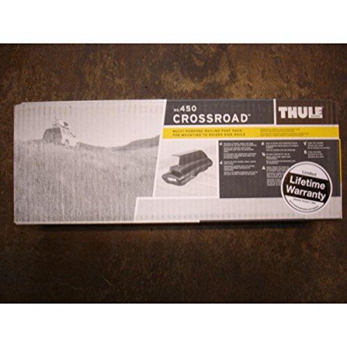 091021450271 - Thule 450 CrossRoad Railing Roof Rack Foot Pack (Set of 4) carousel main 1