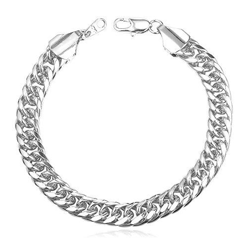 Thick Bracelet Platinum YellOW Plated