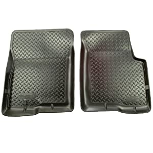 Husky Liners Classic Style Custom Fit Molded Front Floor Liner for Select Chevrolet/GMC Models (Black)