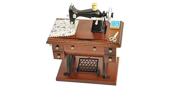 La caja de música de la vendimia de madera del arte la decoración ...