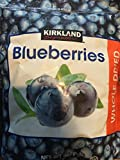 Kirkland Signature Whole Dried Blueberries (Net Weight 567g)