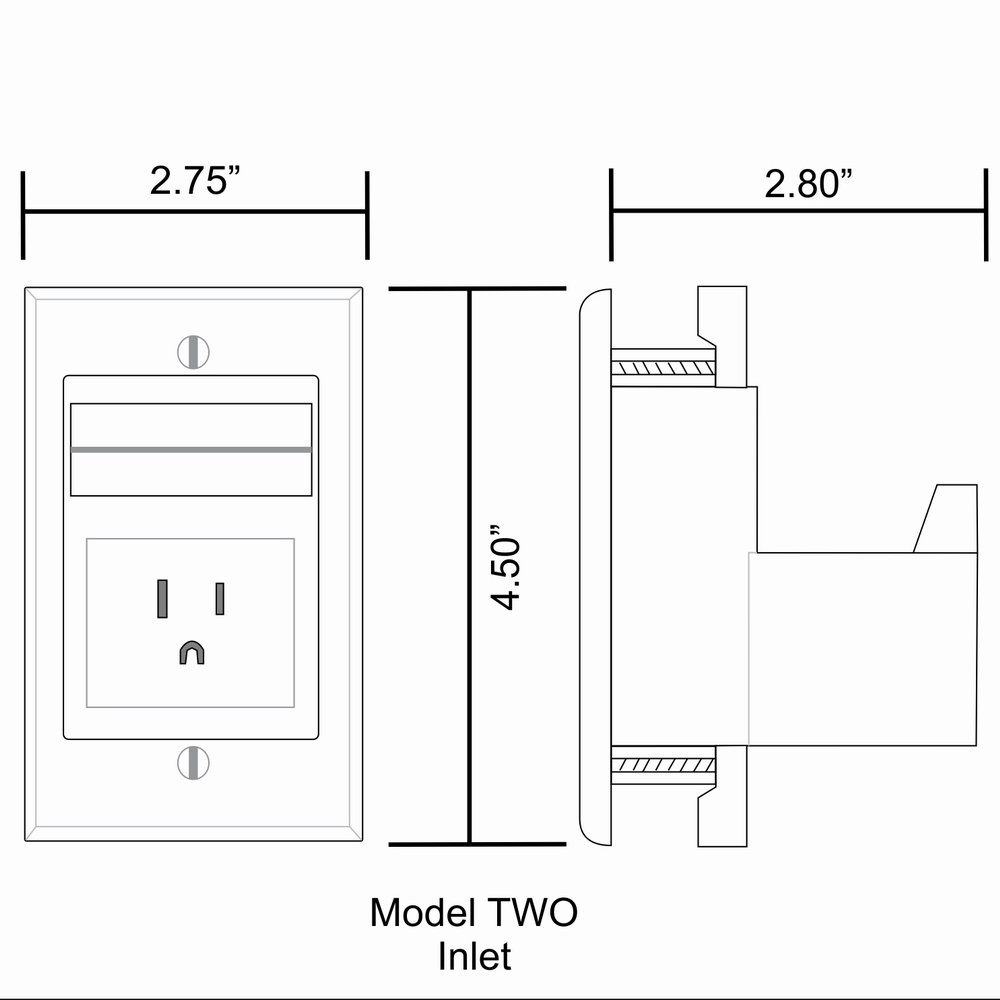 PowerBridge TWO-CK Dual Outlet for TV and Sound-Bar Recessed In-Wall Cable Management System Kit (TWOSB-CK) by PowerBridge Solutions (Image #11)