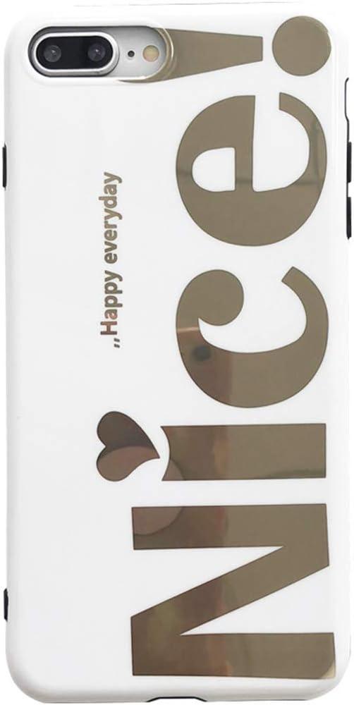 JINRU iPhone 7 Caso/THot estampando la Tarjeta de Calle para iPhone7, 8, 7P, 8P, XS, XR, XS MAX (cáscara Suave Todo Incluido),8P: Amazon.es: Hogar