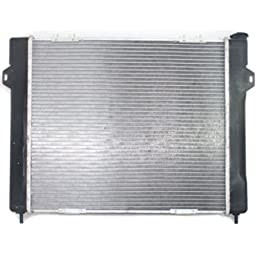 Perfect Fit Group P1396 - Grand Cherokee Radiator, 6Cyl