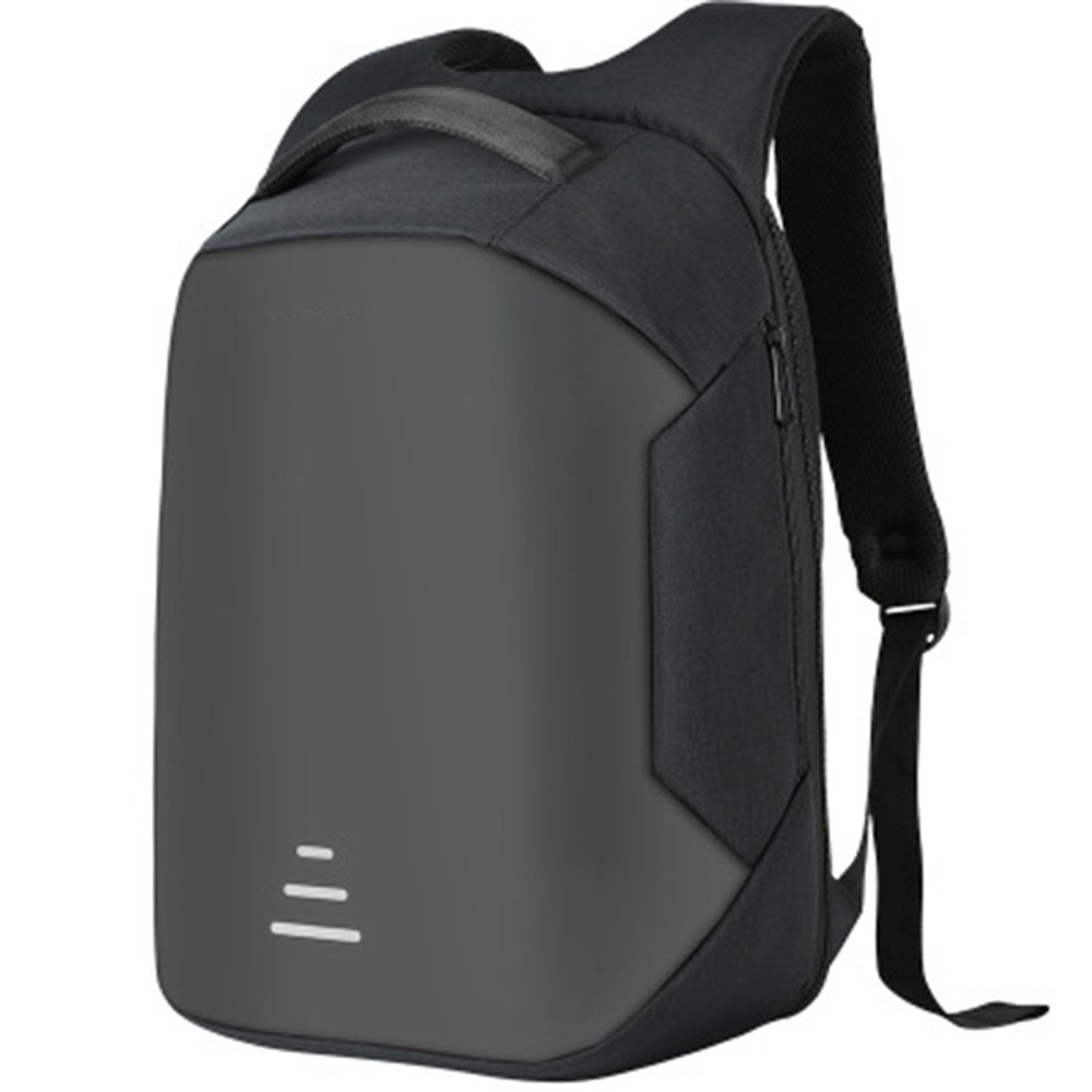 USB充電付き、大容量、軽量トラベルバッグ、防水およびアンチタッチ、さまざまな目的に適している、複数の詳細、デザイン、ファッションスタイル (色 : ブラック) B07Q8KZ9ZR ブラック