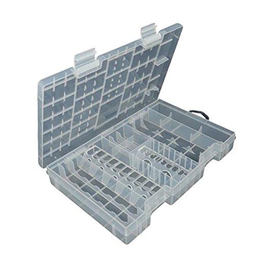 online store 306d4 95d03 Goliton Large Model Batteries Holder Storage Box of Multifunctional  Transparent Plastic Case Holder Storage Box For AA AAA CD 9V Battery Box
