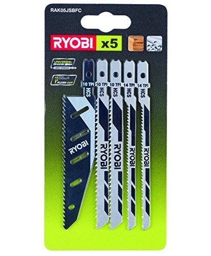 Ryobi 5-teilig Stichsägeblattset, 5132002697