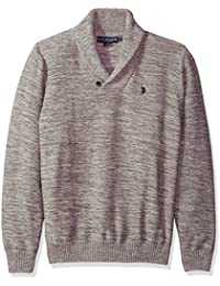Men's Reverse Jersey Shawl Collar Sweater
