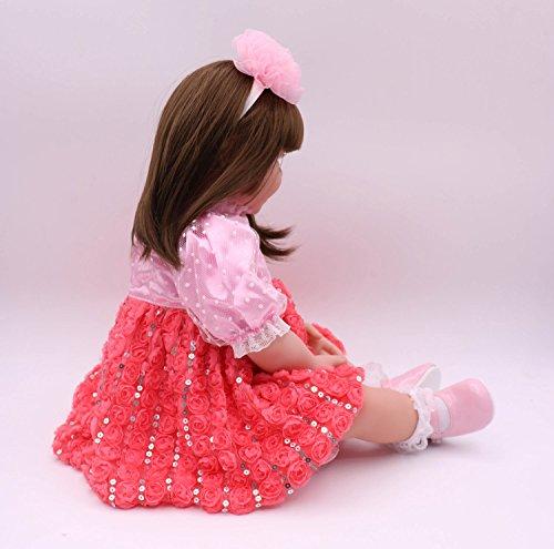 Pursue Baby 24 Inch Floppy Body Lifelike Toddler Princess Girl Doll Charlene by Pursue Baby (Image #5)