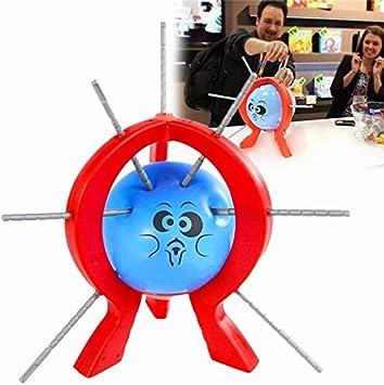 AVANI EXCHANGE Boom Boom Balloon Game Juego de Mesa con Palos para niños Niños Regalo de Juguete Diversión Familiar: Amazon.es: Juguetes y juegos
