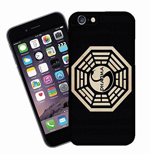 Dharma Logo de la TV Show Lost–Étui pour iPhone–Ce modèle compatible avec Apple iPhone 6–by Eclipse idées cadeau
