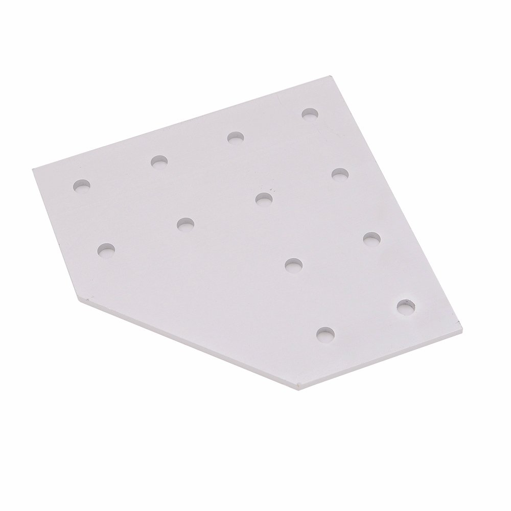 Boeray 12 Hole 90° Joining Plate for Aluminum Extrusion Profile 4080 Series
