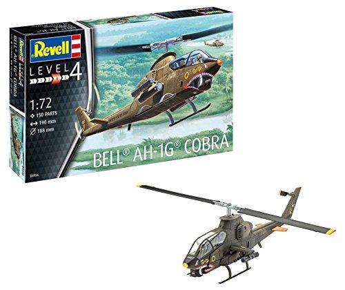 (Revell Germany Bell AH-1G Cobra Model Kit Model Building Kit)