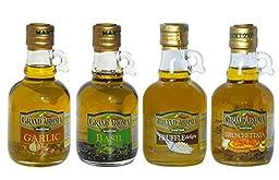 Mantova Bruschetta/Truffle/Garlic/Basil, Set of 4 bottles, 8.5 oz each