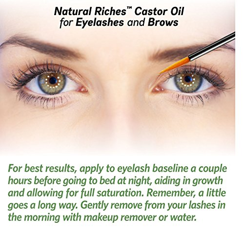 Natural Eyelash Growth Castor Oil