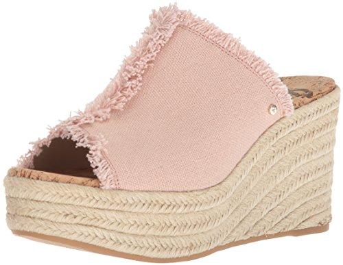 (Sam Edelman Women's Dina Espadrille Wedge Sandal Shell Pink 8.5 M US)