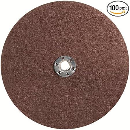"""SAIT 4-1//2/"""" X 7//8/"""" 36-GRIT SANDING DISC 51036 PACKS OF 100"""