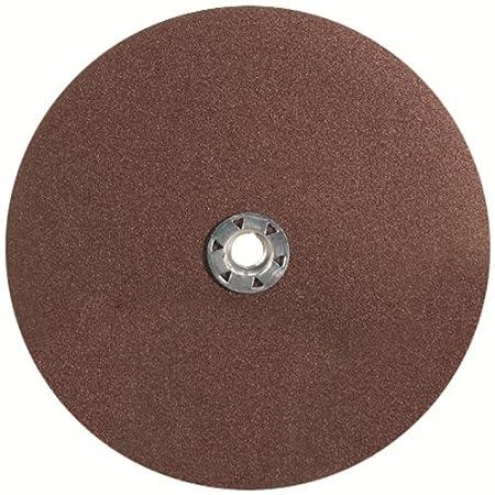 United Abrasives-SAIT 51036 2A Aluminum Oxide 4-1/2-Inch X 7/8-Inch Fiber Disc, 36 Grit Bulk Disc, 100-Pack