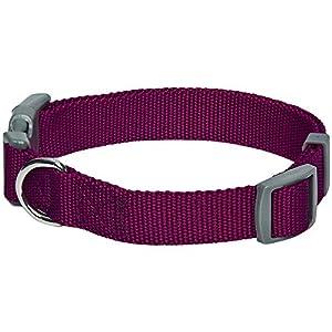 collares ajustables para perros Umi Collar para perros M gris Essential Classic cuello 37-50 cm