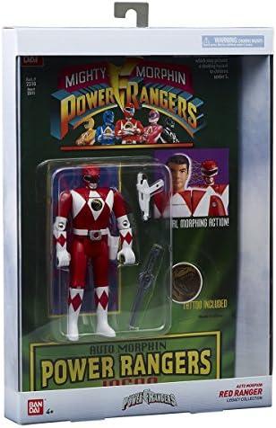 40293 Power Rangers Figurine automorphin Ranger Rouge