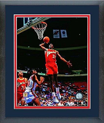 Dominique Wilkins Atlanta Hawks NBAアクション写真(サイズ: 22.5