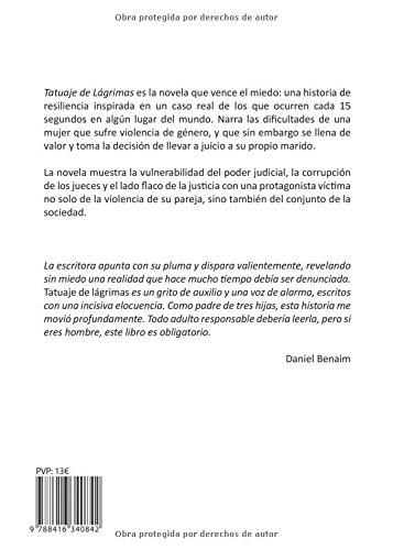 TATUAJE DE LAGRIMAS: Amazon.es: Lavaud, María Elena: Libros