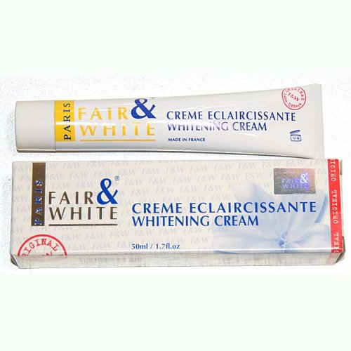 white and fair cream