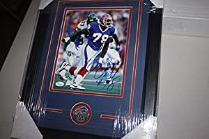 Buffalo Bills Bruce Smith #78 Autographed Signed Framed 8x10 Photo Hof 2009 JSA Certified