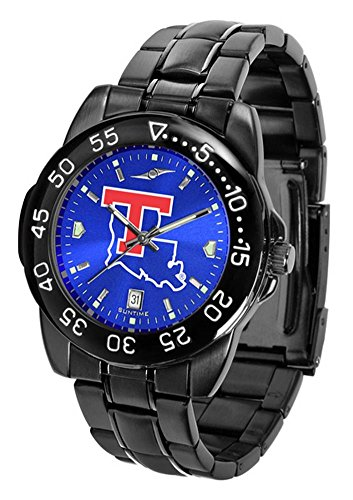 Louisiana Tech Bulldogs Fantom Sport AnoChrome Men's Watch (Tech Watch Bulldogs Steel Sport)