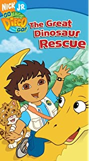 Amazon.com: Go Diego Go! Diego Saves Christmas [VHS]: E. Austin ...