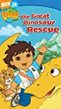 Go Diego Go! - The Great Dinosaur Rescue [VHS]
