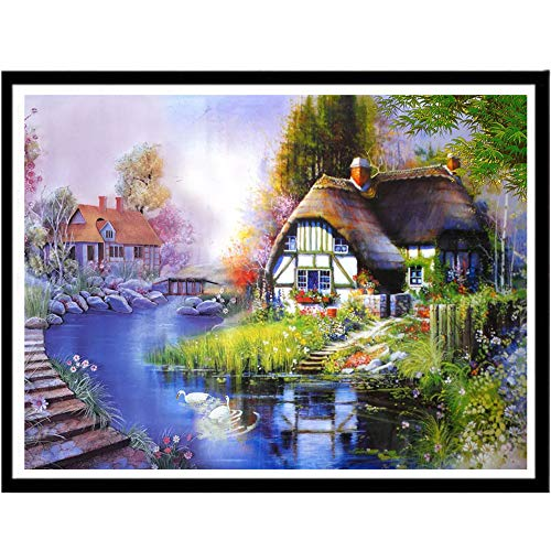(BeatuShe Diamond Painting Kits for Adults 11.8 x 18 inch Full Drill Woman DIY Diamond Cross Stitch Patterns for Home Decorations)