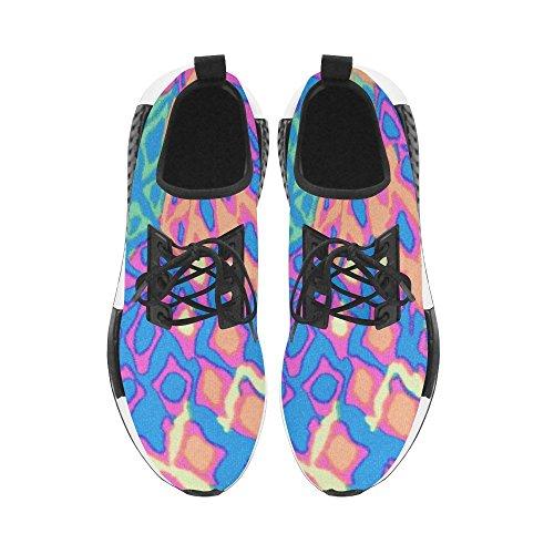 Interestprint Colorful Abstarct Art Draco Hombre Zapatillas De Deporte Fitness Entrenador Zapatillas De Correr