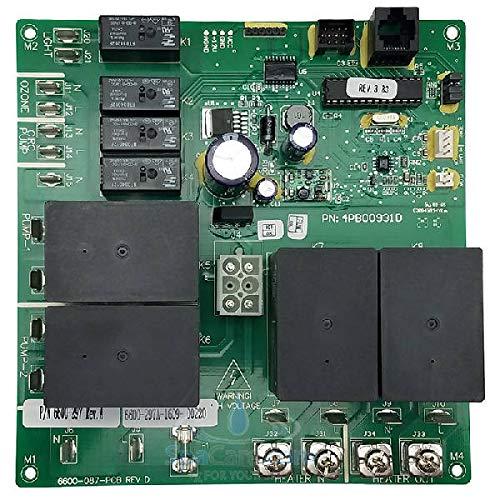 (Sundance Spas Jacuzzi Circuit Board 1 pump logic Part number 6600-722)