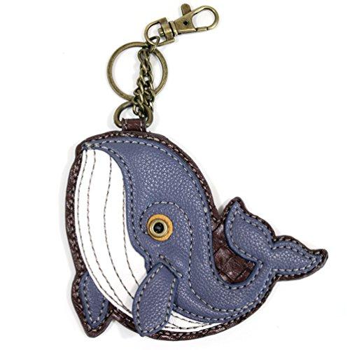 Whale Coin Purse Key Chain