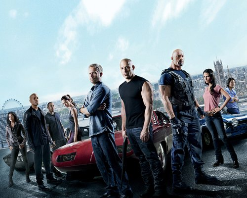 Cast A 8x10 Photo - Fast and Furious 6 Cast 012 8x10 PHOTO