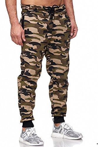 Uomo Jogging Camouflage Cod 16600 Pantaloni Prod nbsp;birds Tazzio Per khaki q7UIEI