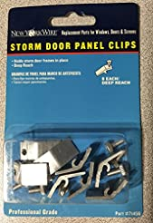 Storm Door Panel Clips Deep Reach 71456 ...
