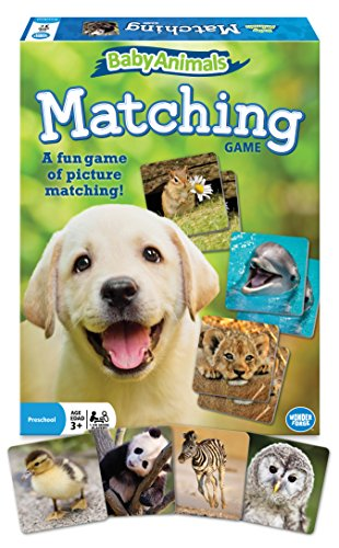 - The Wonder Forge Baby Animals Matching Game