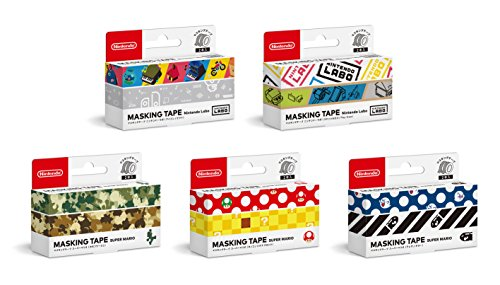 Masking tape 5 types set Japanese - Nintendo Sheet Sticker