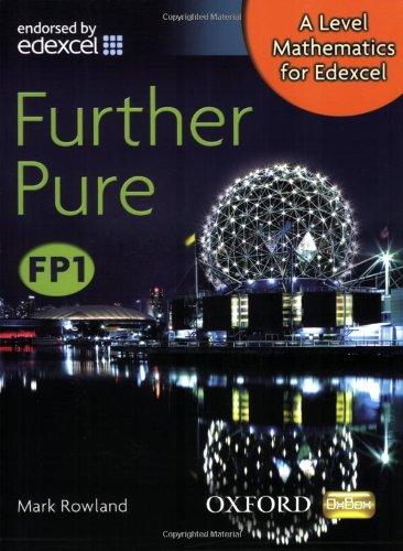 A Level Mathematics for Edexcel Fp1. Further Pure pdf epub