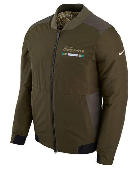 128e7a92 Amazon.com : Miami Dolphins NFL Salute to Service Men's Reversible ...
