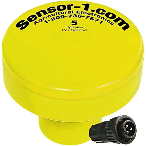 Sensor-1 DS-GPSM-R5-YEL 5 Hz GPS Speed Sensor, Yellow Housing with Raven Connector by Sensor-1