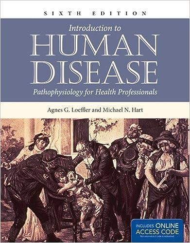 Introduction To Human Disease: Pathophysiology For Health Professionals (Introduction to Human Disease ( Hart)) Agnes G. Loeffler and Michael N. Hart