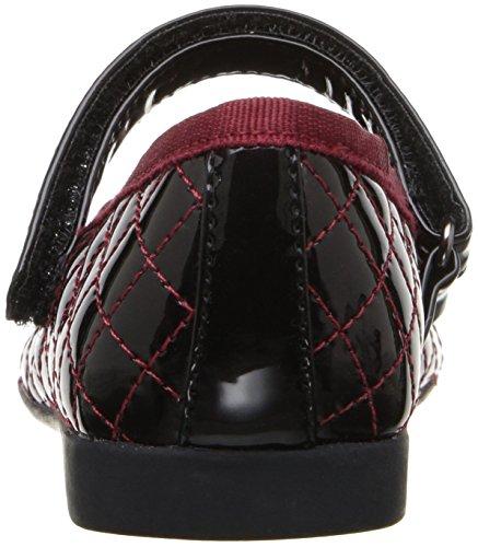 Geox Jr Plie D, Bailarinas Para Niñas Rot (DK RED/BLACKC0100)